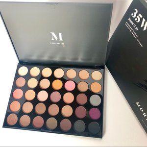 Morphe 35W Warm It Up Eyeshadow Palette - New